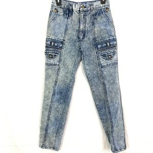HAPPINESS JEANS WEAR Hi Rise Stone Wash Jeans 28